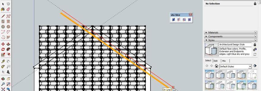 Cara memotong object dengan mudah menggunakan s4u Slice