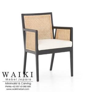 Kursi Rotan Rada Arm Chair dari waiki mebel jepara central java indonesia