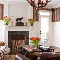 Mantel and Recessed Panel Wainscoting by Wainscot Solutions