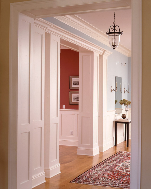 Paneled Columns And Ceilings Wainscot Solutions Inc
