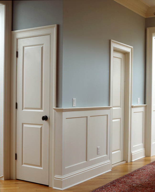 Wainscoting Bathroom: Recessed Panel Wainscoting
