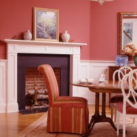 Mantel and Fireplace Surround by Wainscot Solutions
