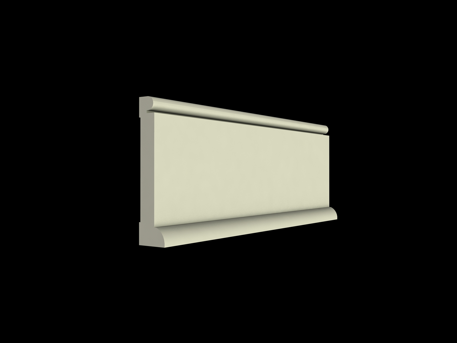 Wainscot solutions inc custom assembled wainscoting - Base Molding Options