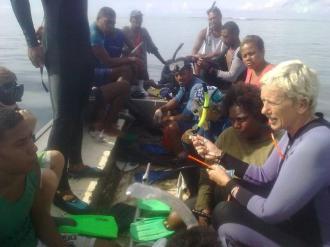 Waitabu Surveys 2014 Day 4 (7)