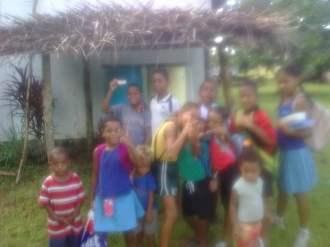 Waitabu village together week March 2013