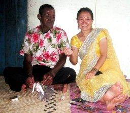 Intern smoking suki with chief Eroni HS