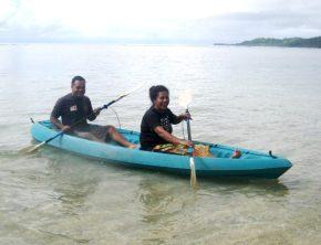 Kaya inaugral voyage Pita and Eta HS
