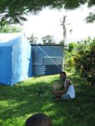 Govt tents post TC Winston in Waitabu