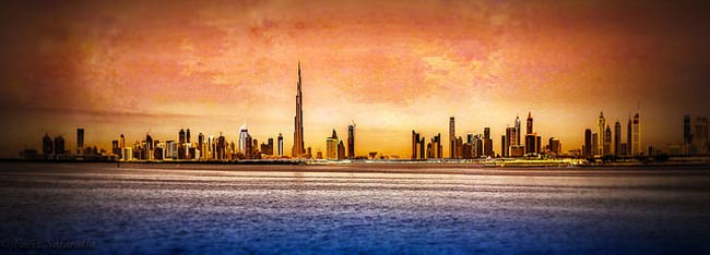 Dubai Skyline - @Flickr / Fariz Safarulla