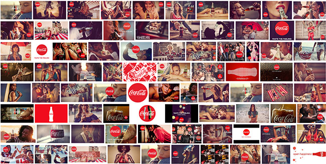 integrated marketing example by Coca Cola