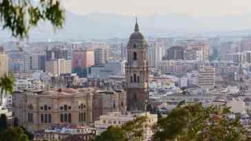 Malaga - widok miasta