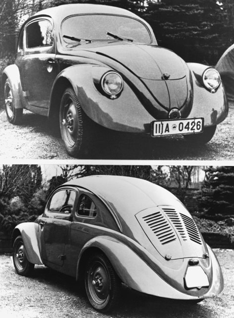 The idea for an affordable People's Car was first put forward by a young Jewish engineering student by the name of Josef Ganz in 1923 when he made his first sketches of the car.