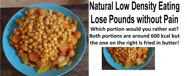 Natural Low Density Eating - Lose Pounds without Pain!