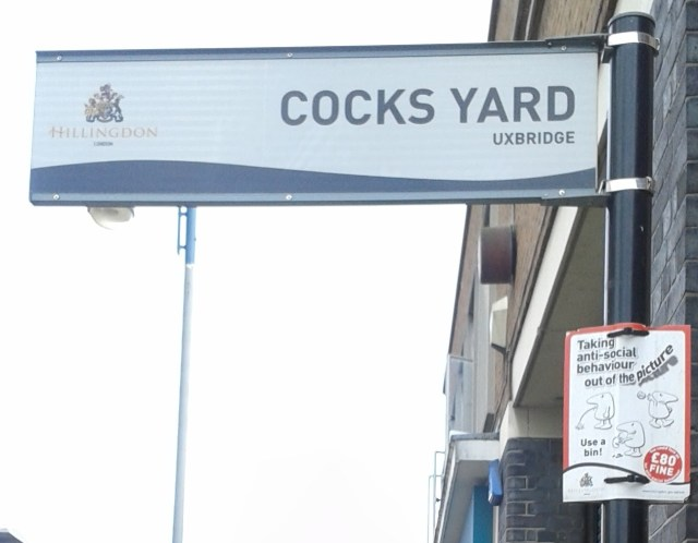 Cocks Yard Uxbridge Zoomed