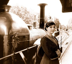 Queen_Victoria 1842-06-13 first monarch to use a train