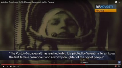 Valentina Tereshkova - first woman in space!
