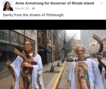 Rhode Island Gubernatorial & AG Candidates Arrested Second Time For Growing Weed