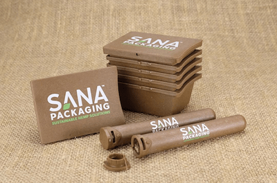 Sana Cannabis Packaging Team Up Oceanworks To Create Recycled Hemp and Bioplastic Offerings