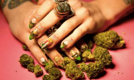 It's a Thing.. Ganja Nails