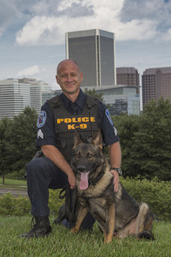 Man caught with weed after parking outside RPD K-9 training facility
