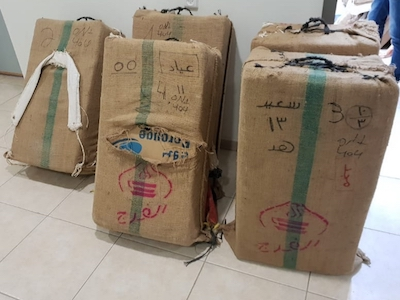 Israeli Special Forces Detain Bedouins Smuggling Hash & Weed From Egypt To Israel