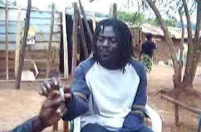 UGANDANS SMOKING WEED