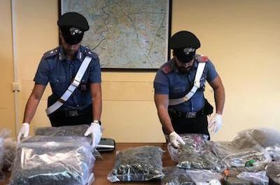 ANSA.it English Latest News 64 kg of hash seized at French border 64 kg of hash seized at French border Bosnian, 35, driving into Italy in Spainish-registered car