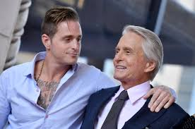 Michael Douglas' Son Says Dad Made Him Hand Out Spliffs To Famous Pals