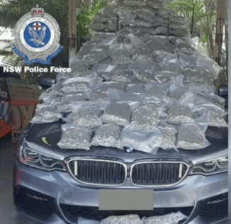 Australia: Man arrested near Byron Bay with '$1 million in cannabis'