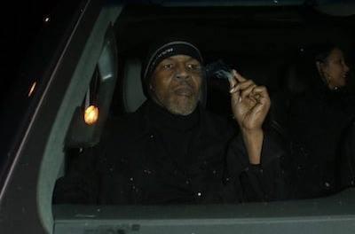 Surprise Surprise Mike Tyson Smokes Weed