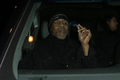 Surprise Surprise Mike Tyson Smokes Weed