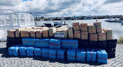 Portugal: GNR police seize 3.7 tonnes of hashish in Tavira
