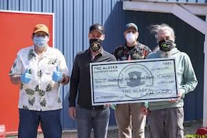 Alaska: Cannabis company donates $10,000 to food bank