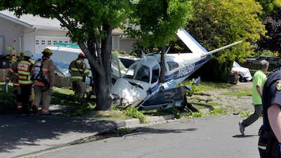 Oregon : Passenger pleads guilty in pot plane crash