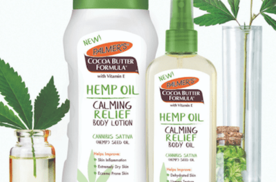 E.T. Browne Drug Co., Maker of Palmer's®, Launches New Hemp Oil Body Care Collection