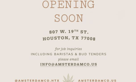Houston's new CBD-infused coffee shop Amsterdam Coffee Co. will open in the Heights next week
