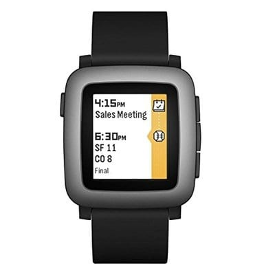 Pebble Time Smartwatch – Black-5 Best Smart Watches