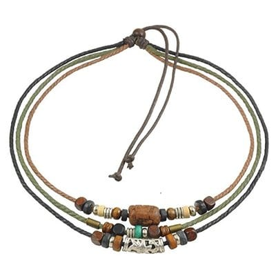 Ancient Tribe Hemp Cords Wood Beads-5 Best Hemp Necklaces