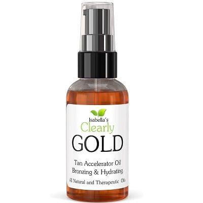 Best Tanning Oils - Isabella's Clearly GOLD