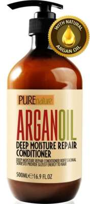 Best Conditioners For Wavy Hair - Moroccan Argan Oil Conditioner