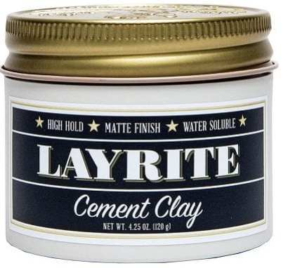 Best Hair Products For Men - Layrite Cement Clay