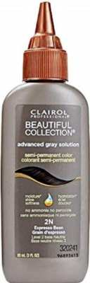 Best Semi-Permanent Hair Dyes - Clairol Professional Beautiful Collection Advanced Gray Solution Semi-Permanent Color