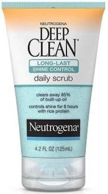 Face Washes for Oily Skin - Neutrogena Deep Clean