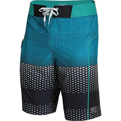 Mens Swim Trunks Dawn Sun Juice Quick Dry Beach Board Shorts with Mesh Lining