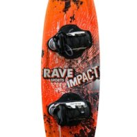 Rave Jr. Impact Wakeboard with Charger Bindings - 122 cm.