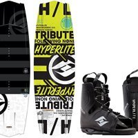 Hyperlite Tribute Blem Wakeboard w/ Frequency Bindings Mens