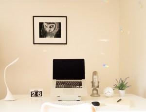 Annette Marner's workspace