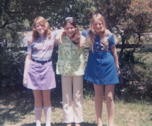 Claire, Deb and Liz 1972