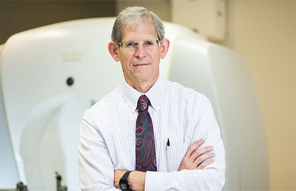 J. Daniel Bourland, PhD, medical physicist and head of the Radiation Physics and Dosimetry Core at Wake Forest School of Medicine.