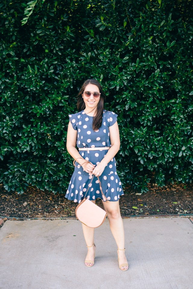 Polka Dot Dress - Waketon Road Blog-24